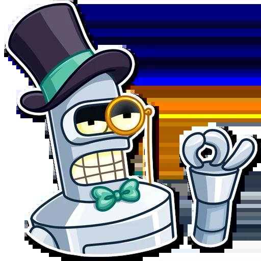 Bender - Sticker 22