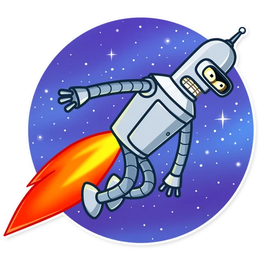 Bender - Sticker 15