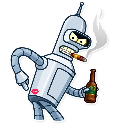 Bender - Sticker 6