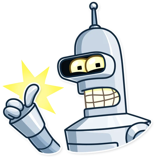 Bender - Sticker 3