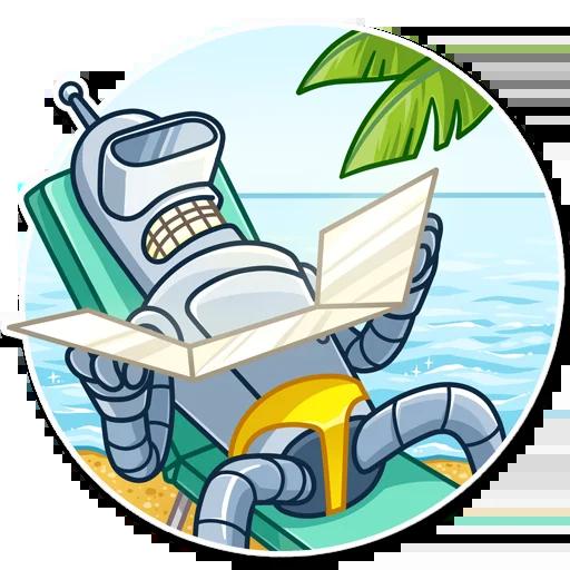 Bender - Sticker 26