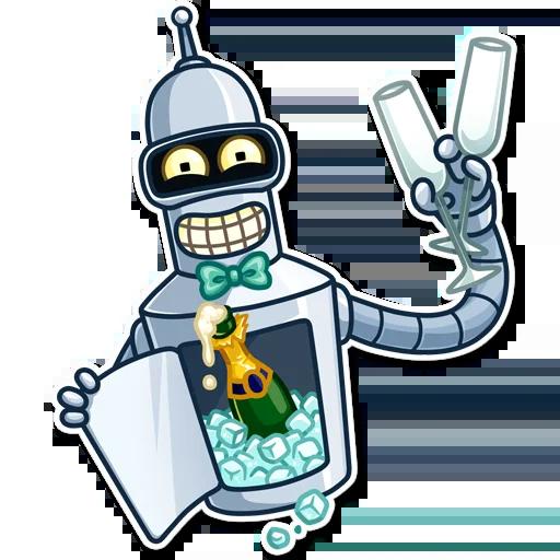 Bender - Sticker 28