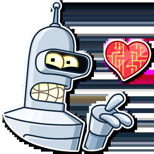 Bender - Sticker 2