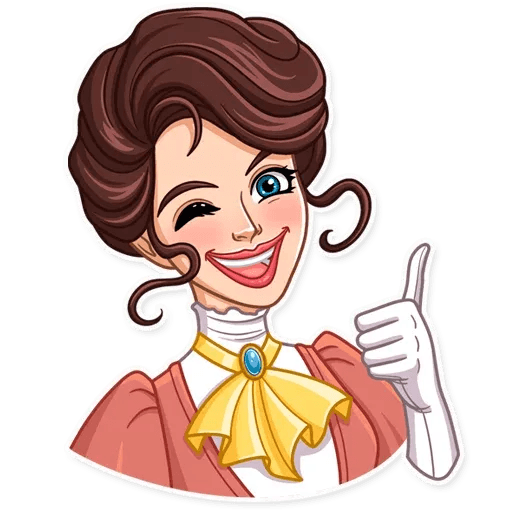 Lady - Sticker 26