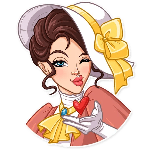 Lady - Sticker 27