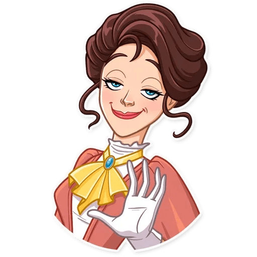 Lady - Sticker 11