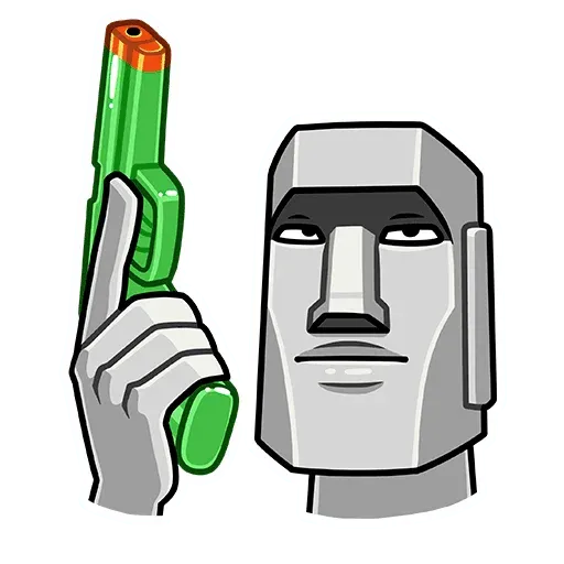 Stonehead-2 - Sticker 4