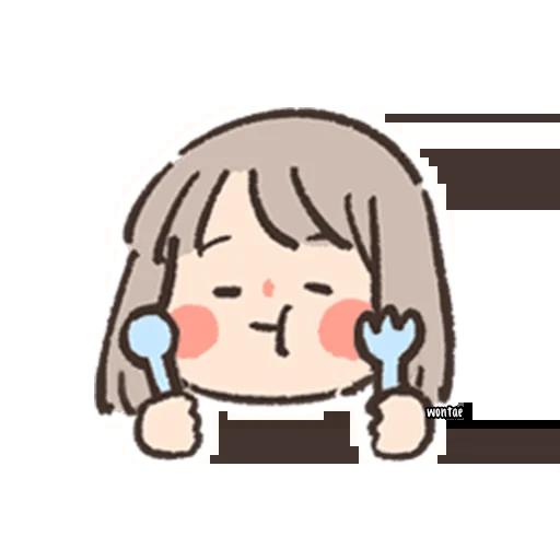 gal gal - Tray Sticker
