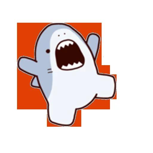 Shark time 2 - Sticker 16