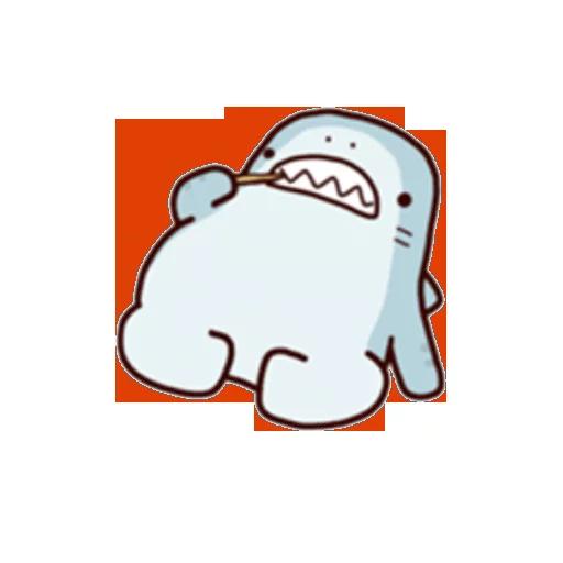 Shark time 2 - Sticker 17