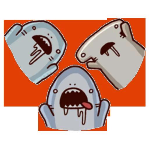 Shark time 2 - Sticker 2