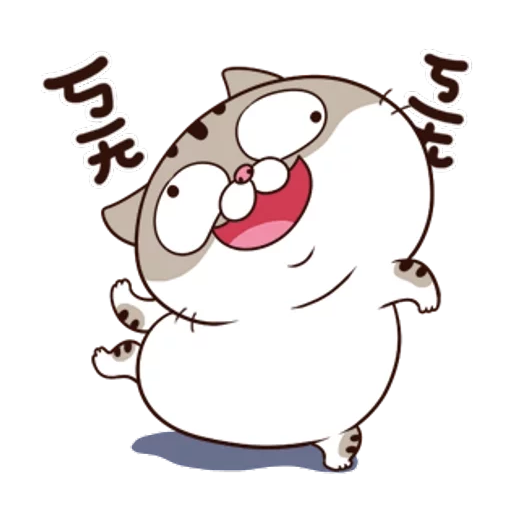 Ami fat cat5 - Sticker 10