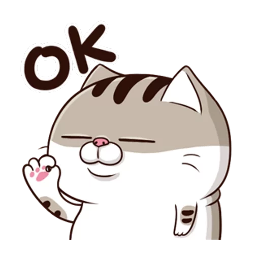 Ami fat cat5 - Sticker 5