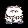 Ami fat cat5 - Tray Sticker
