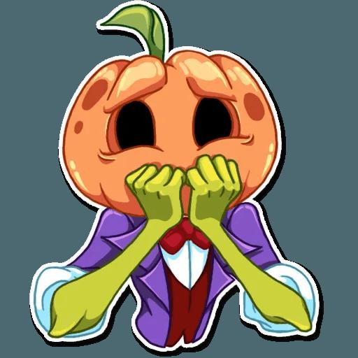 Helloween pumpkin - Sticker 17