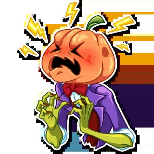 Helloween pumpkin - Sticker 11