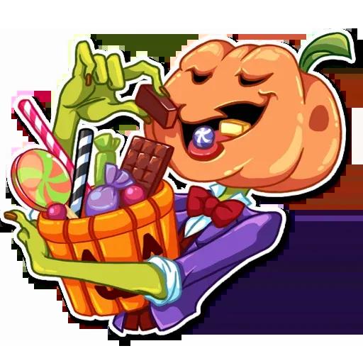 Helloween pumpkin - Sticker 8