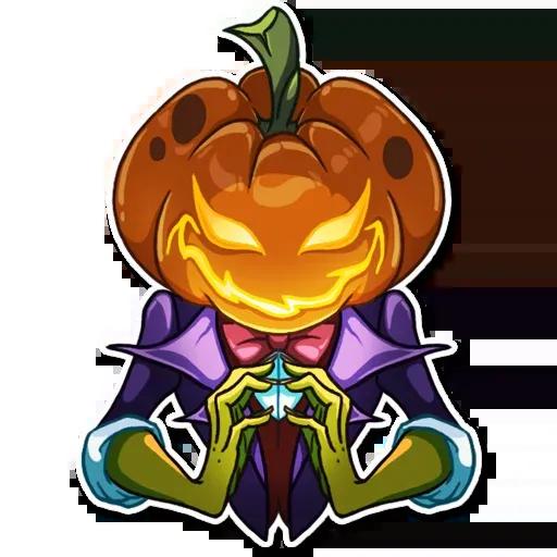 Helloween pumpkin - Sticker 6