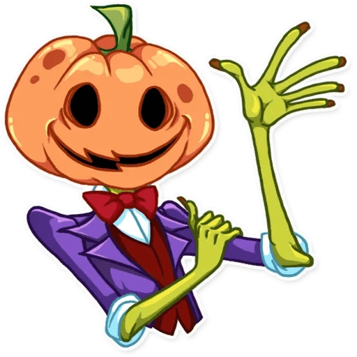 Helloween pumpkin - Sticker 5