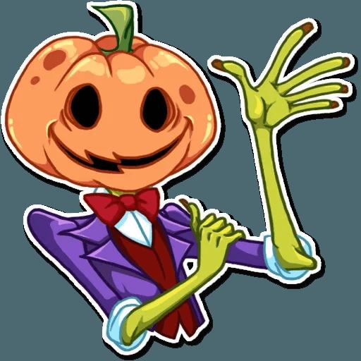 Helloween pumpkin - Sticker 5