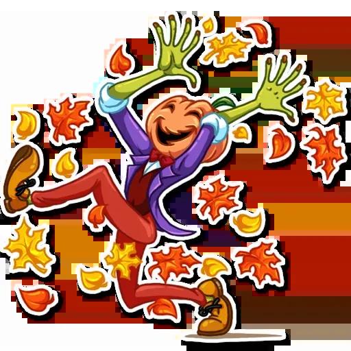 Helloween pumpkin - Sticker 10