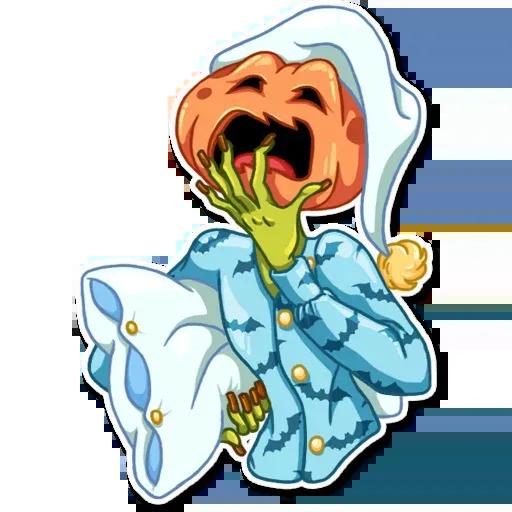 Helloween pumpkin - Sticker 12