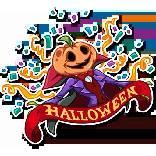 Helloween pumpkin - Sticker 7