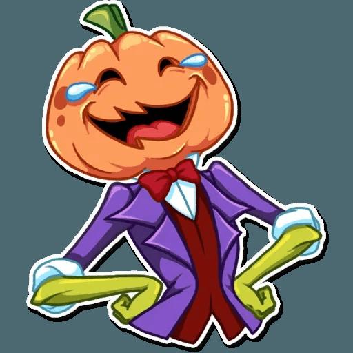 Helloween pumpkin - Sticker 1
