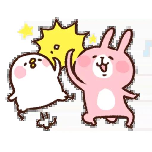 兔 - Tray Sticker