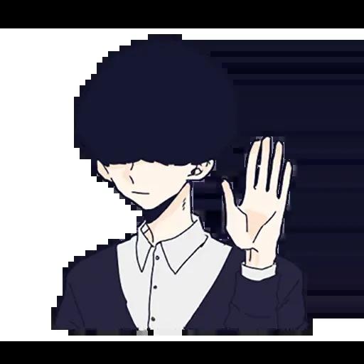寂寞男孩 - Sticker 1