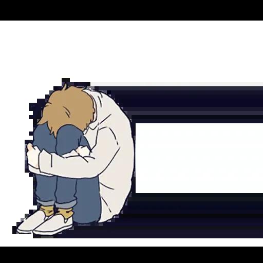 寂寞男孩 - Sticker 9