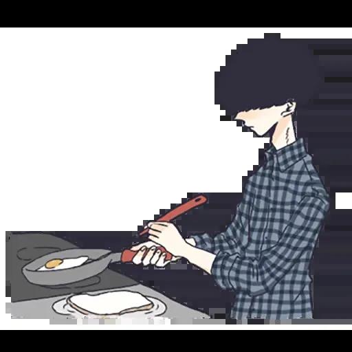 寂寞男孩 - Sticker 26
