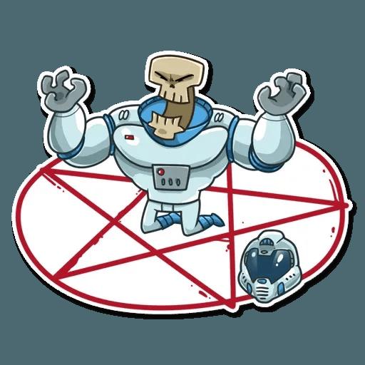 Lone dead spaceman - Sticker 11