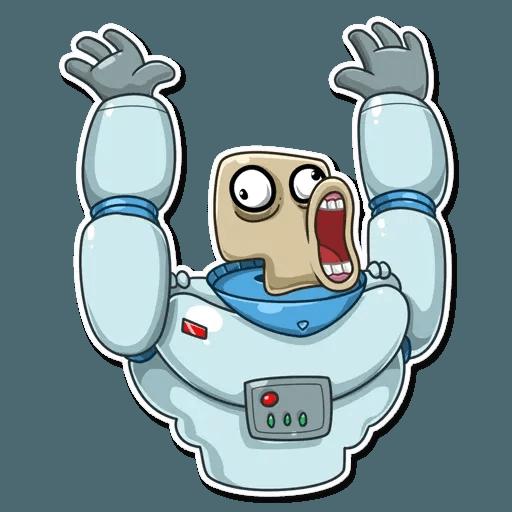 Lone dead spaceman - Sticker 29