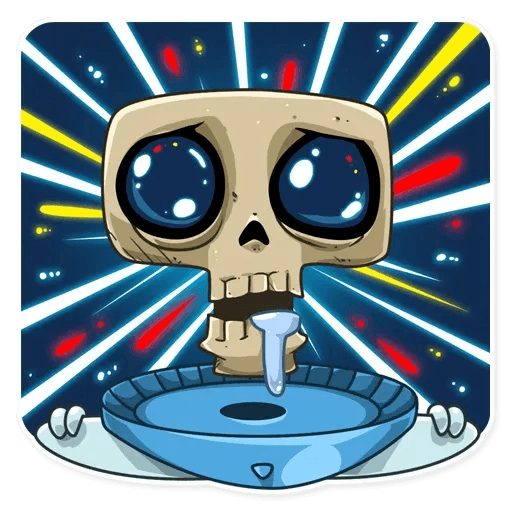 Lone dead spaceman - Sticker 1