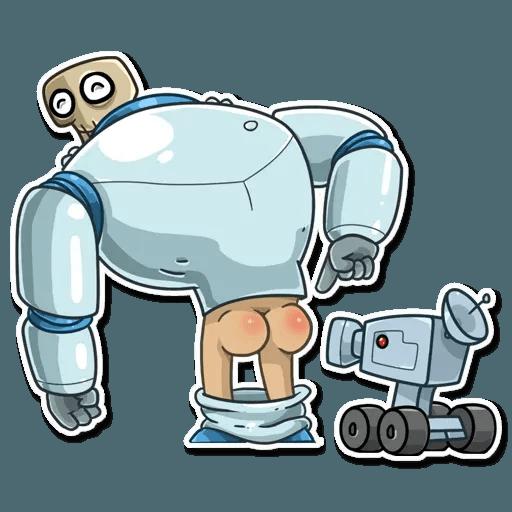 Lone dead spaceman - Sticker 9