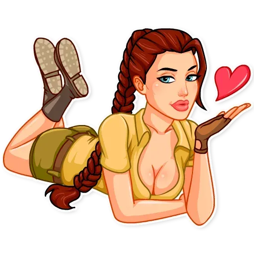 Tomb raider - Sticker 3