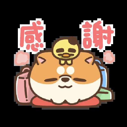 米犬日常~特效貼圖 - Sticker 18