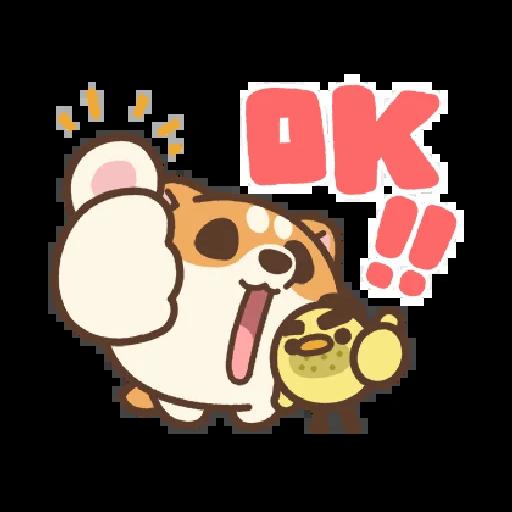 米犬日常~特效貼圖 - Sticker 1