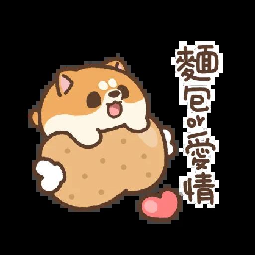 米犬日常~特效貼圖 - Sticker 22