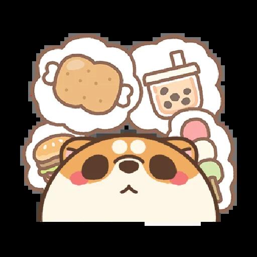 米犬日常~特效貼圖 - Sticker 23