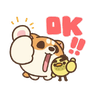 米犬日常~特效貼圖 - Tray Sticker