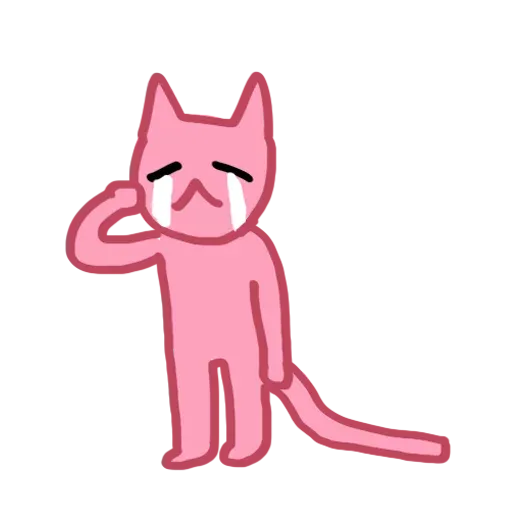 Pinkcat - Sticker 4
