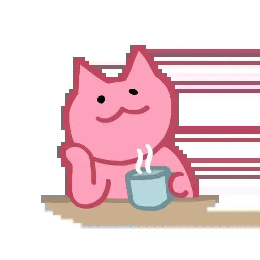 Pinkcat - Sticker 12