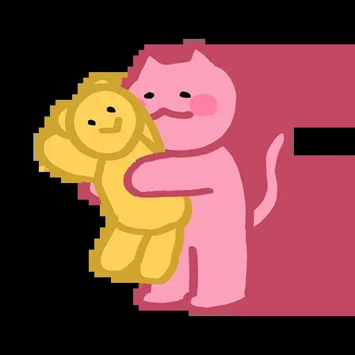 Pinkcat - Sticker 25