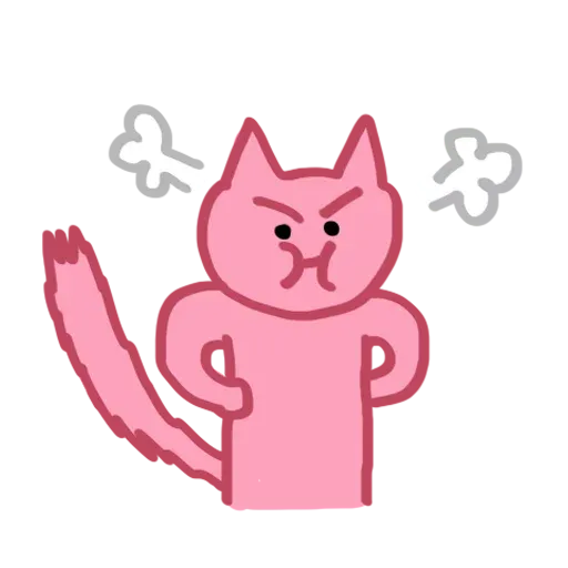 Pinkcat - Sticker 5