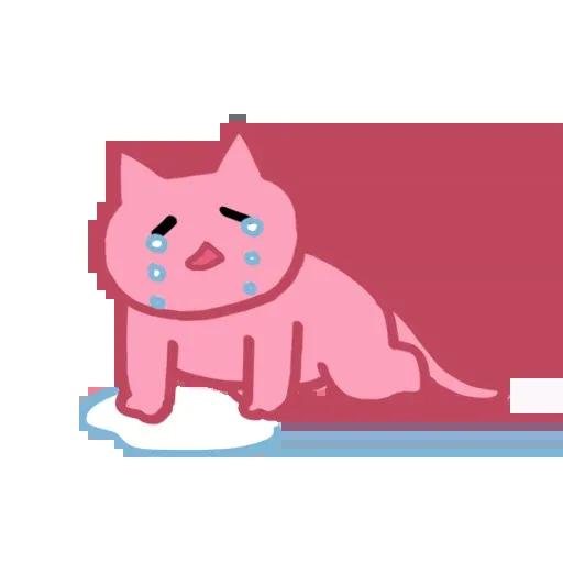 Pinkcat - Sticker 22