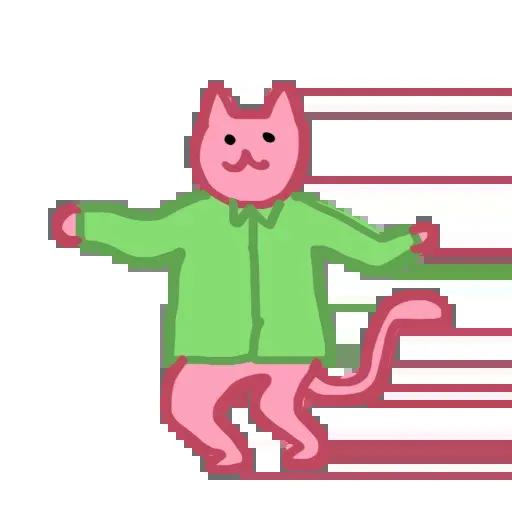 Pinkcat - Sticker 9