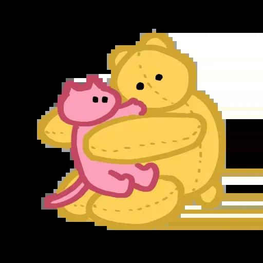 Pinkcat - Sticker 28