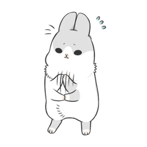 Rabbit Christmas 2 - Sticker 7